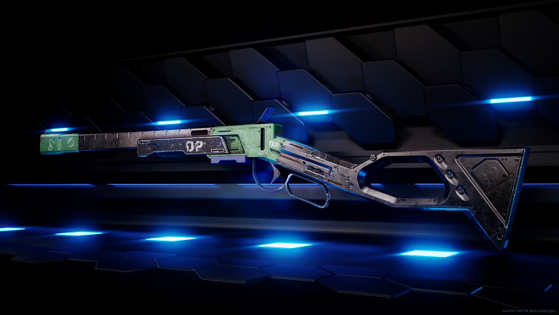 Concept Rifle 3d art