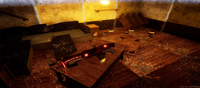 The Lone Gun 3d art
