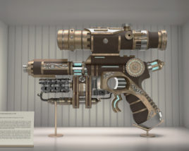 Plasma Operated Flamethrower Pistol of 1813-Fire of Liberty