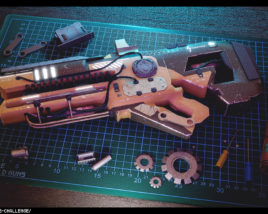 Work Bench – Customized Weapon