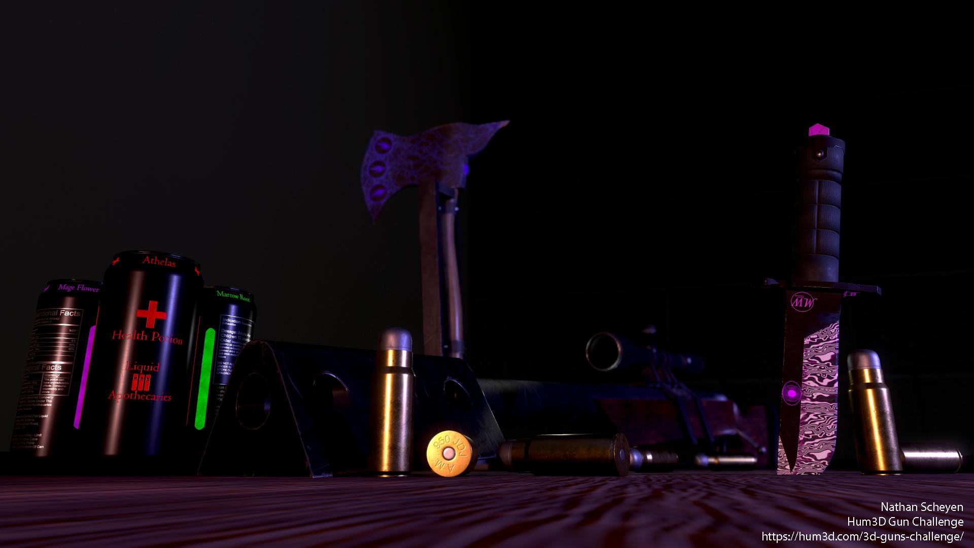 Exterminator's Kit 3d art
