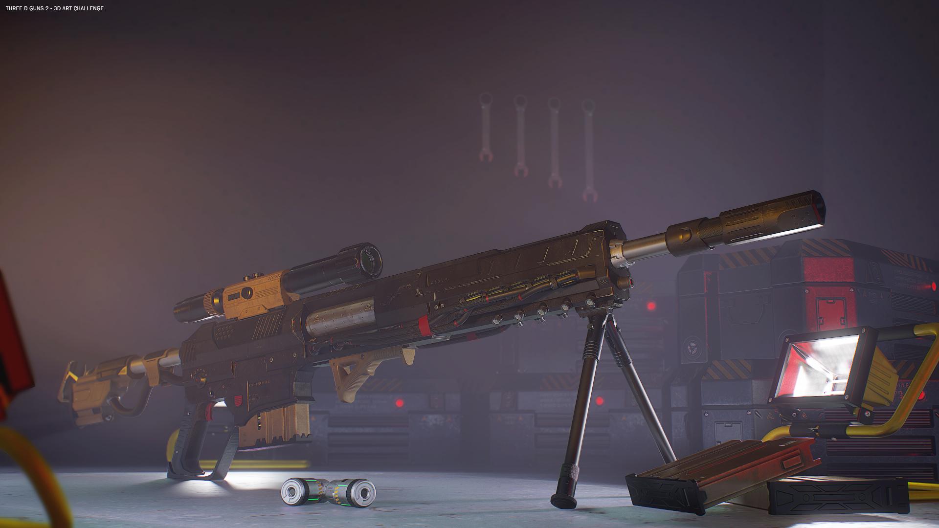 The Desolator 3d art
