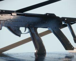 Compact PDW gun