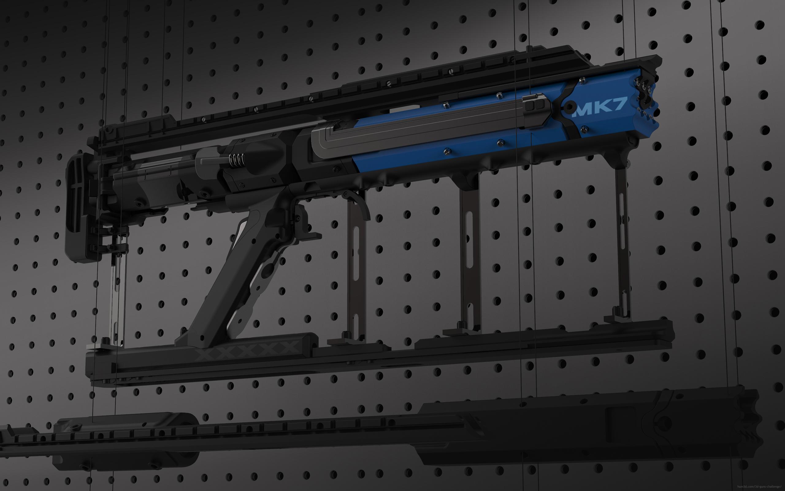 E – Compact MK7 3d art