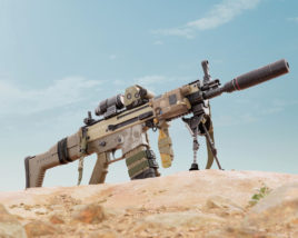 Scar-L – Assault Rifle – aka – Betty