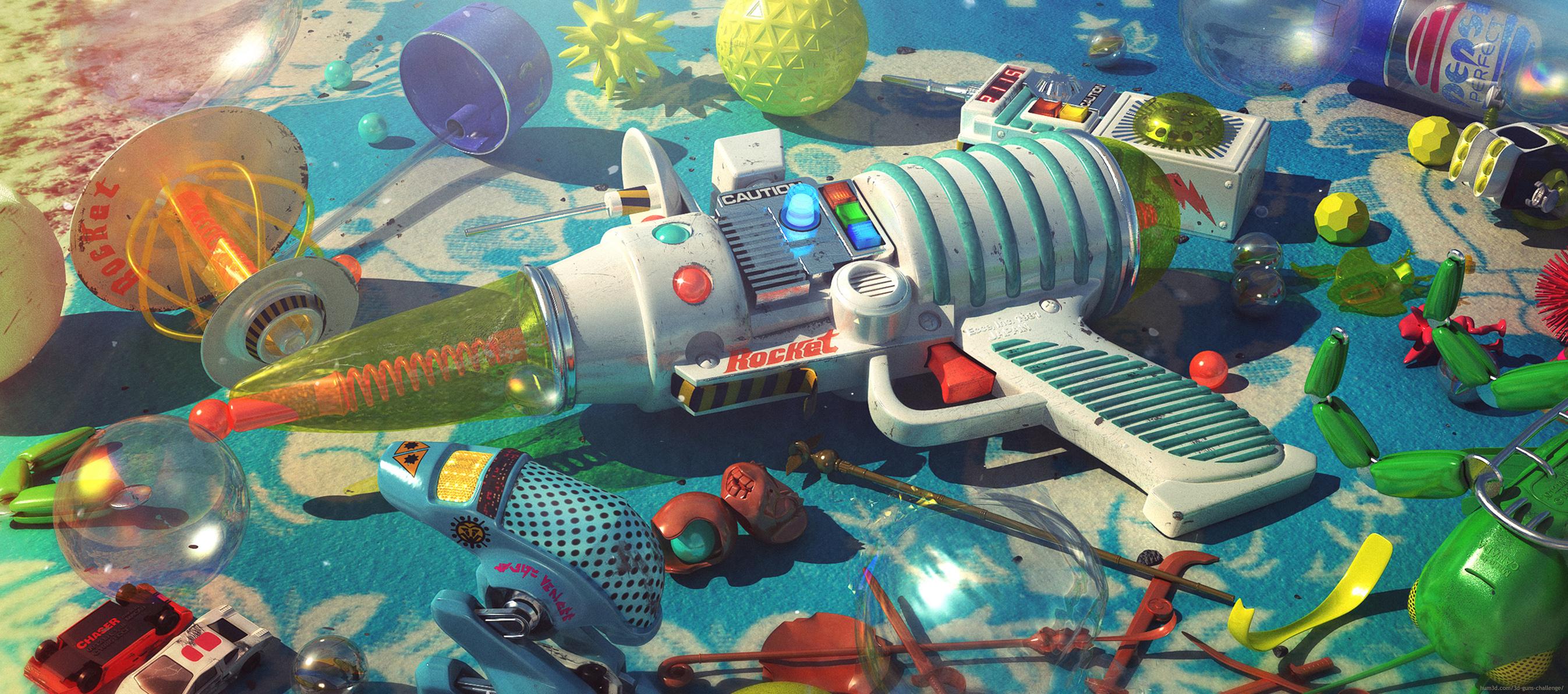 Playground 3d art