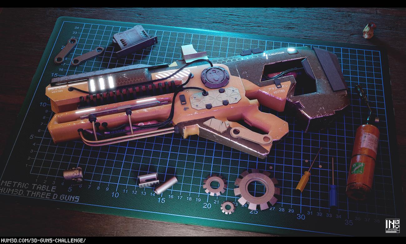 Work Bench – Customized Weapon by Matias Toloza Salech