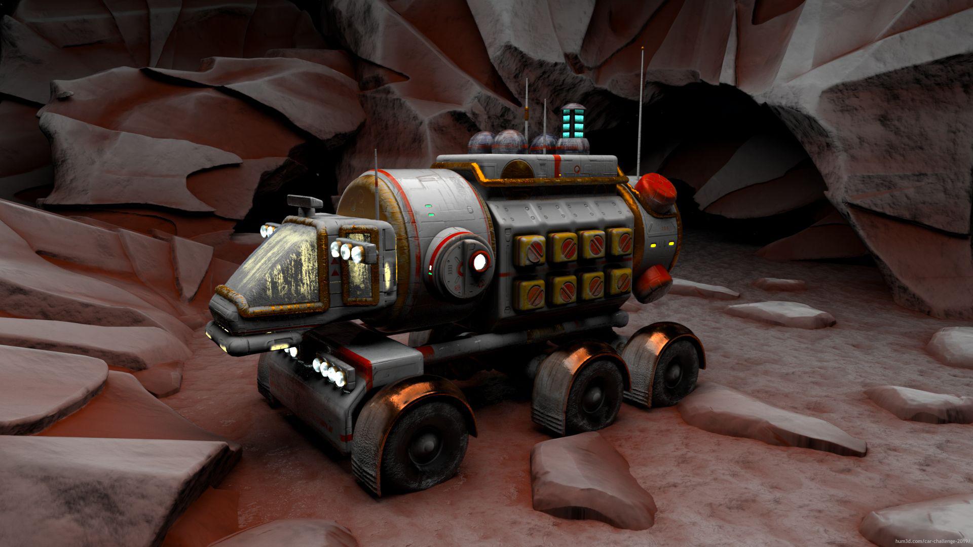 Planet explorer 3d art