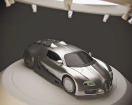 Sci-Fi Bugatti Veyron
