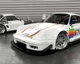 Porsche racing facility