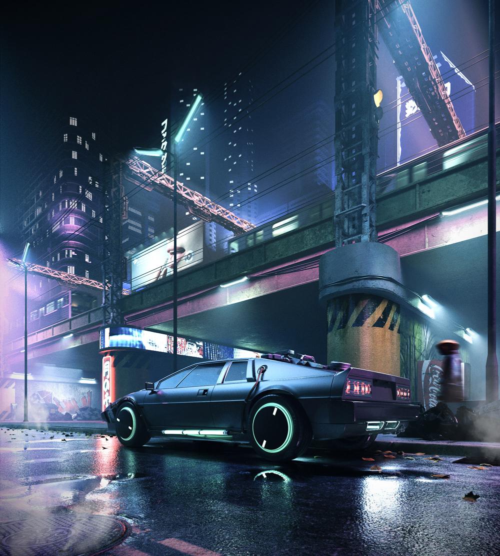 Cyberpunk Streets by Todor Vladev