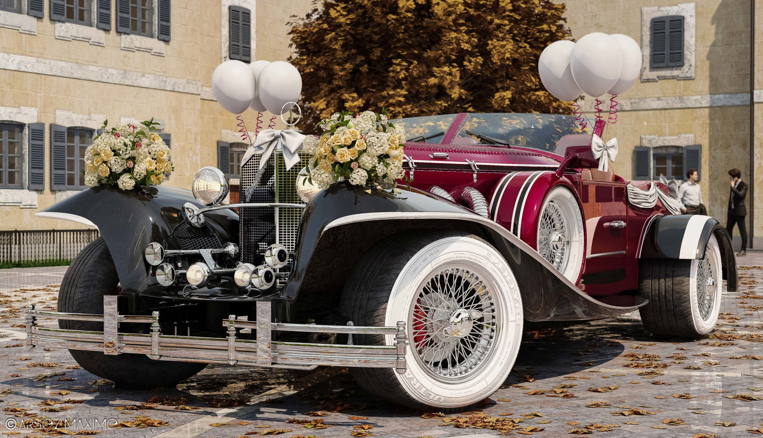 Wedding Excalibur Phaeton