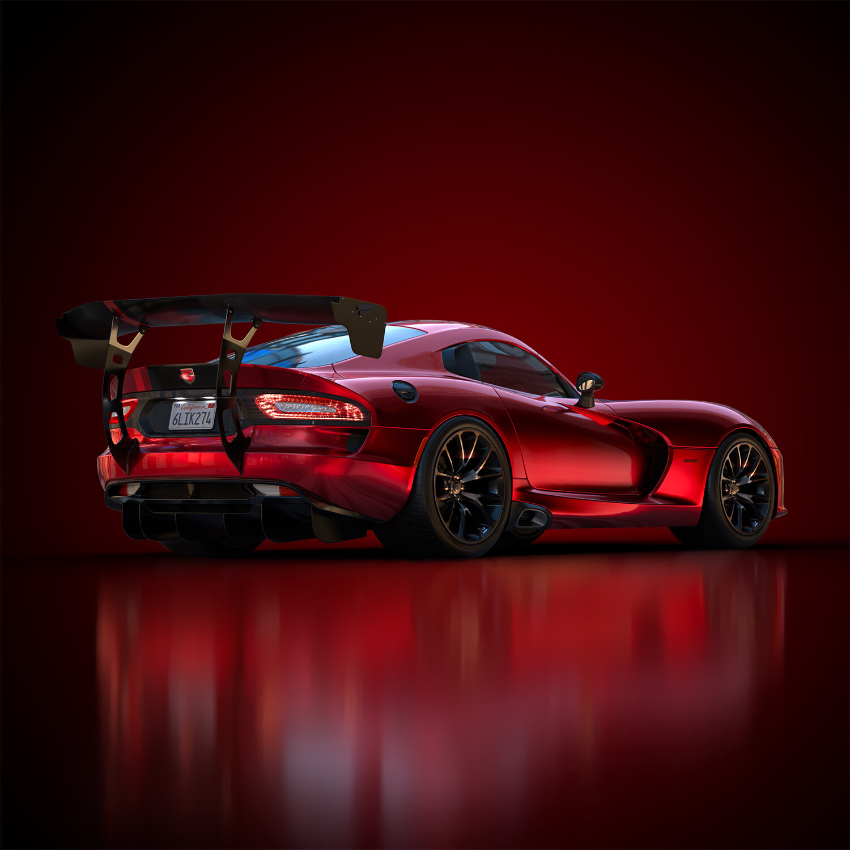Dodge Viper renders