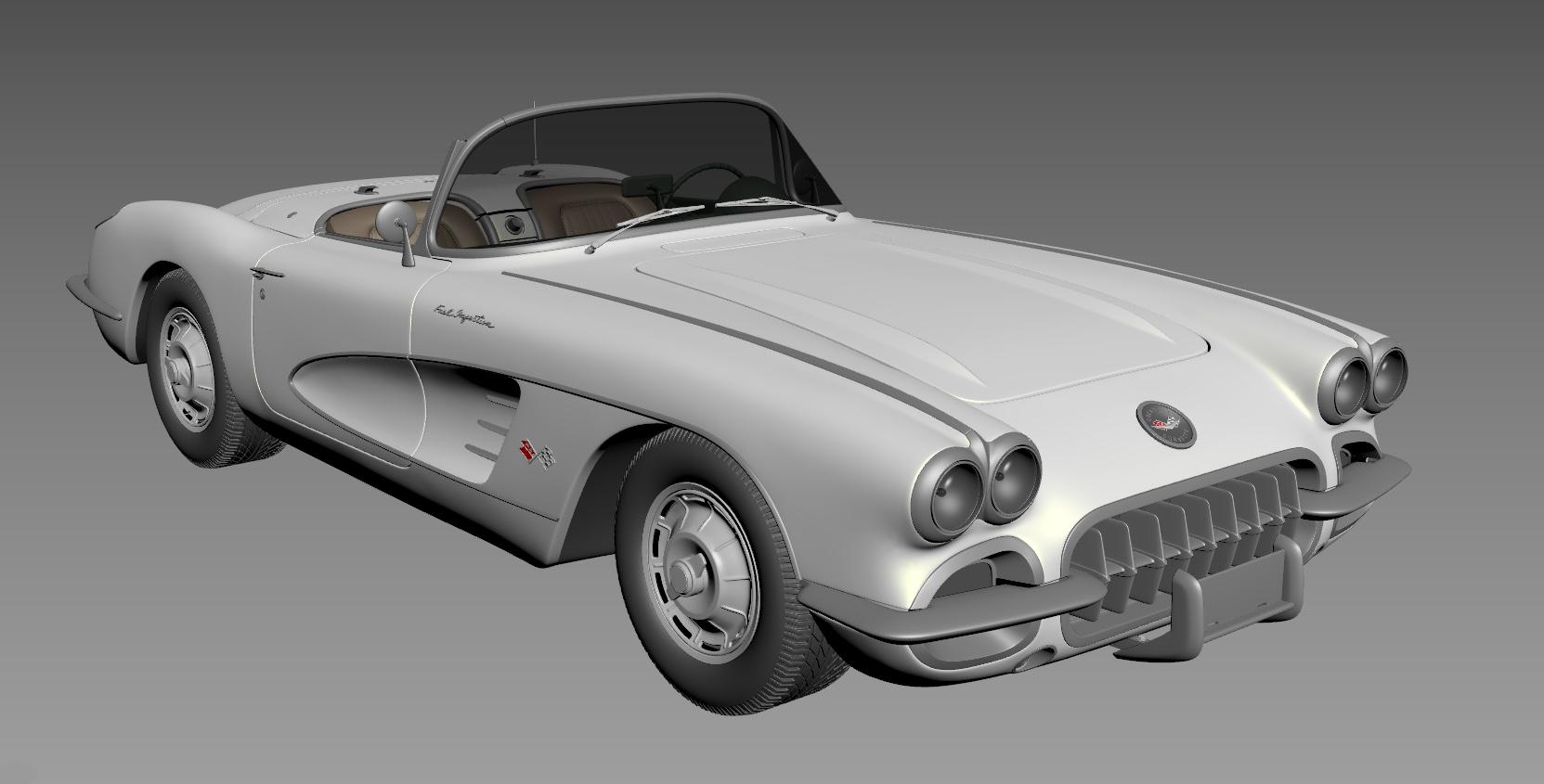 Chevrolet Corvette 1960 wip