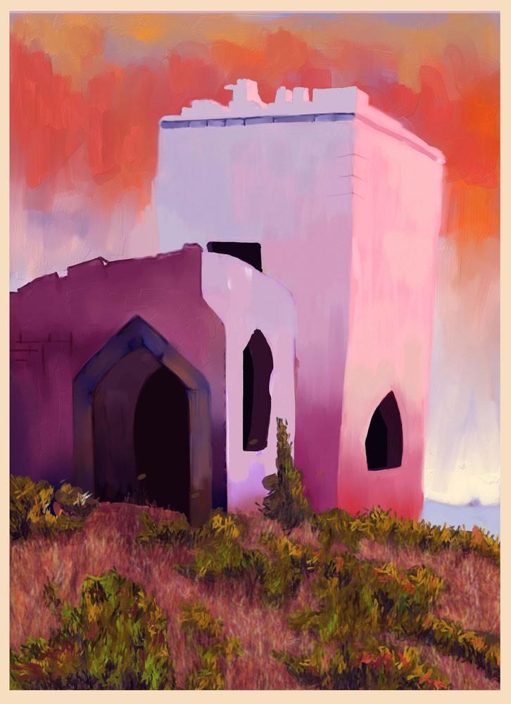 Anupam Das painting