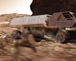 Mars Cargo: the fastest delivery on Mars