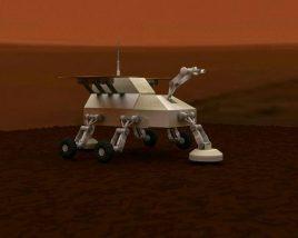 Flying Mars rover