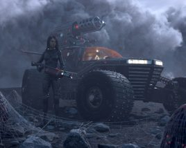 Hellion – Space Rover fights against aliens with fire and love