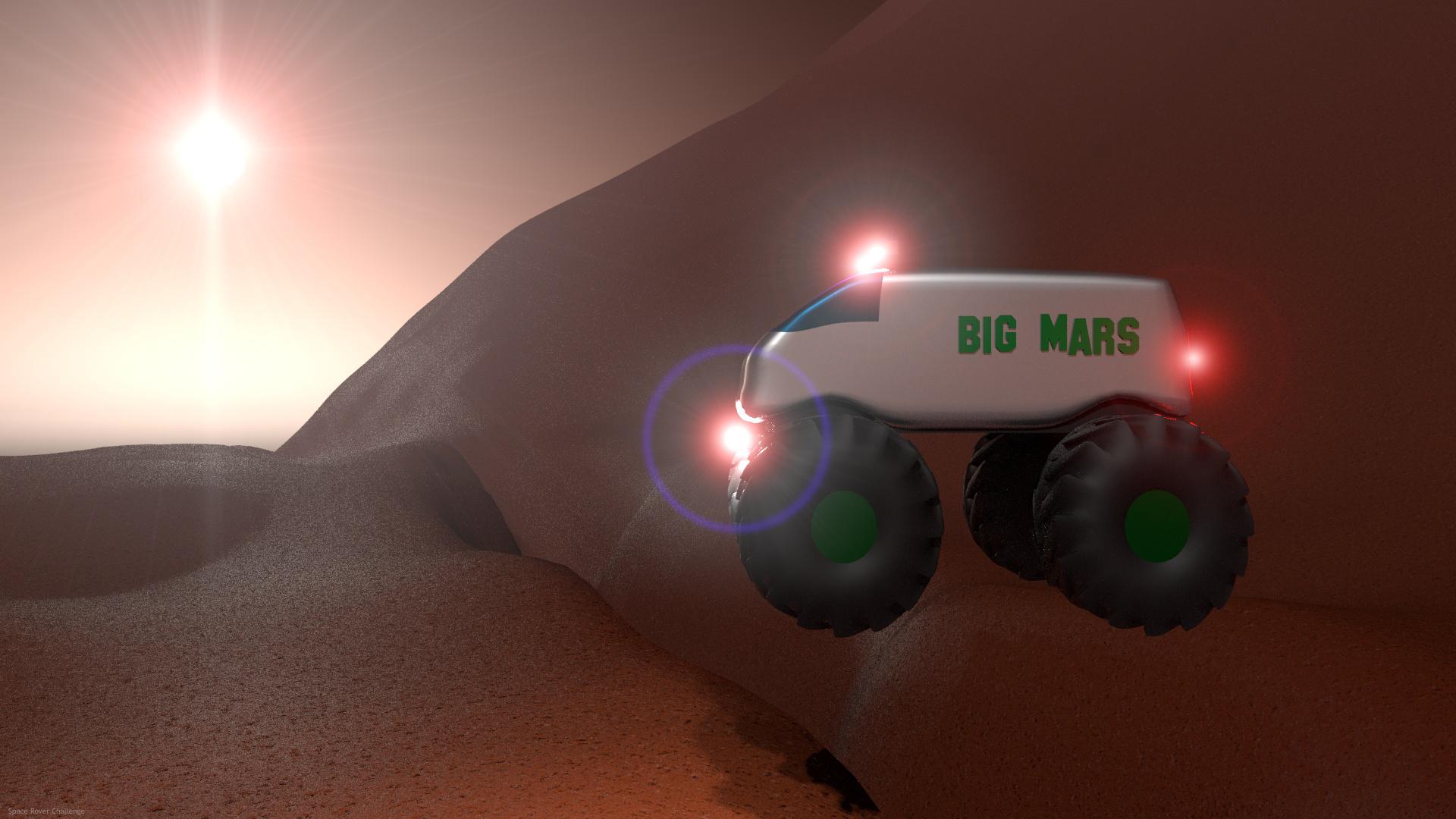 Big Mars 3d art