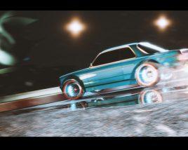 Paloma drifting