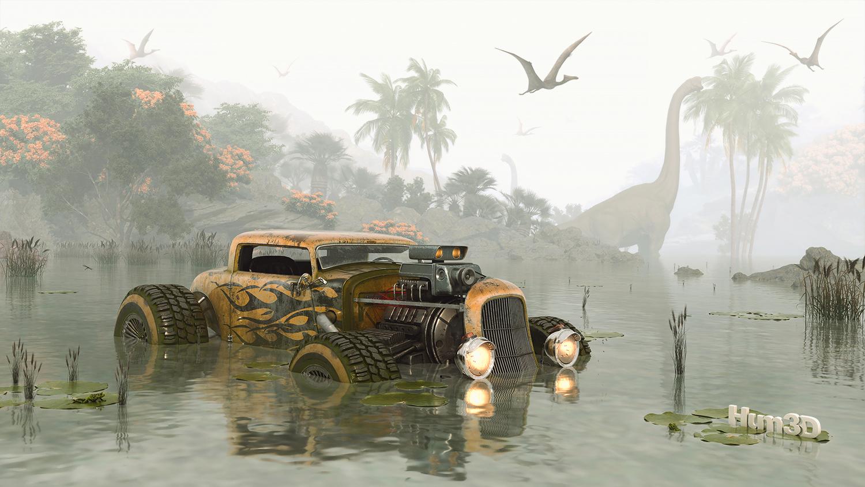 Survivor Dinosaur 3d art
