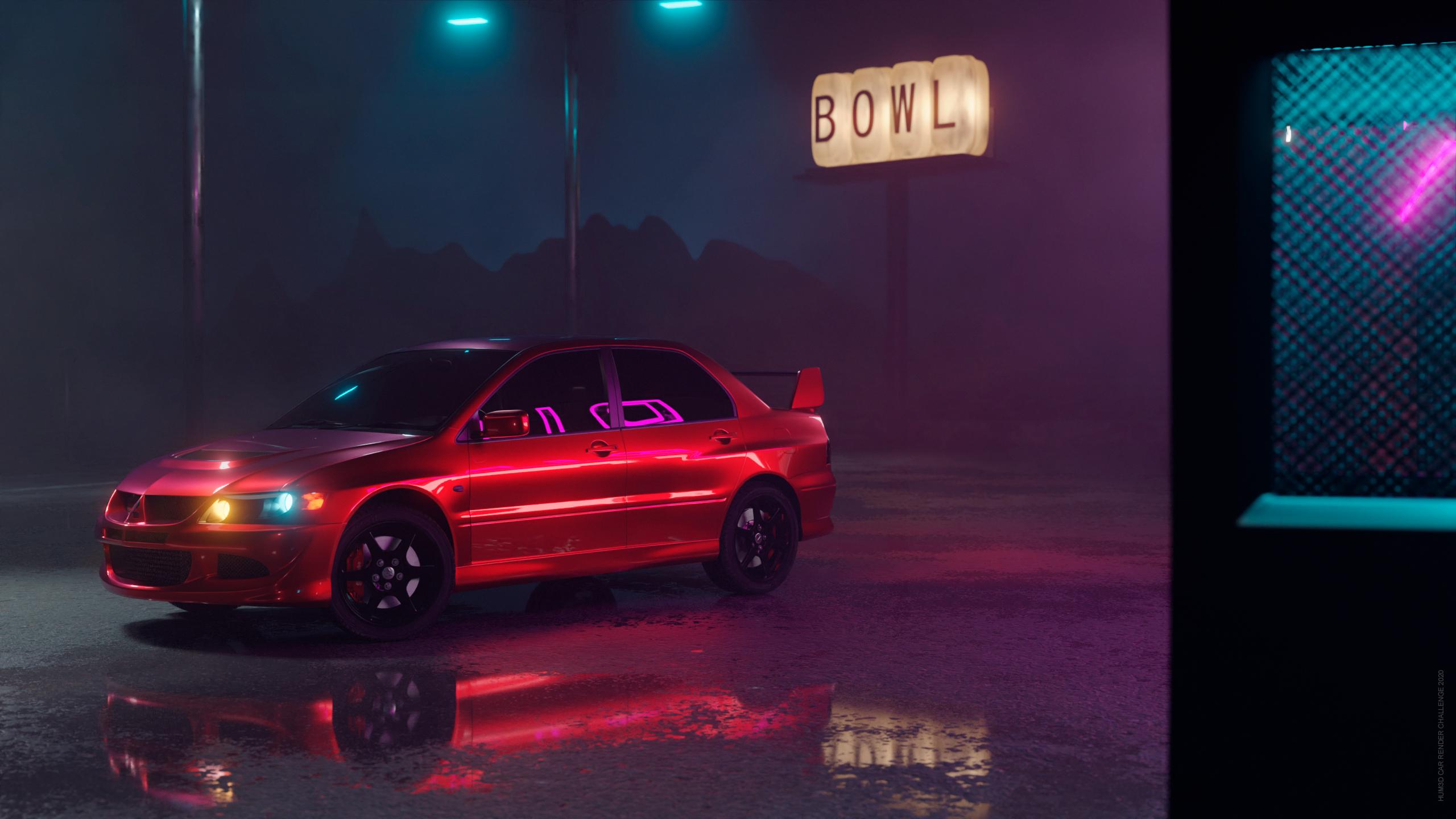Drift Night 3d art