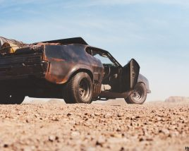 Ford Falcon XB GT - tribute to Mad Max