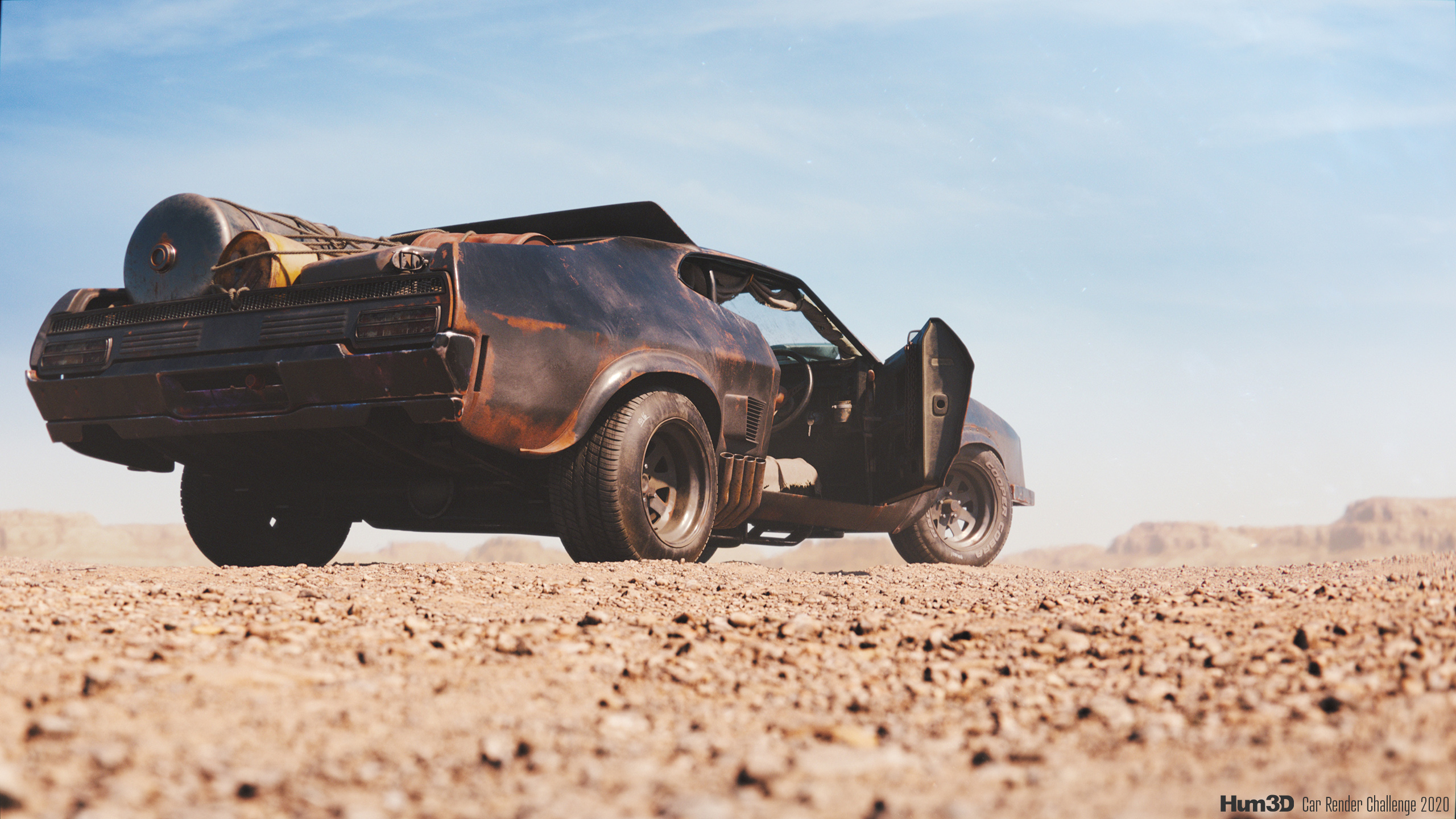 Ford Falcon XB GT – tribute to Mad Max