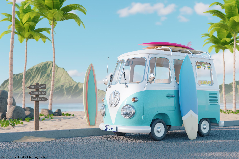 Surf's Up by Matthew Lindebaum