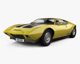 AMC AMX/3 1970 3D model