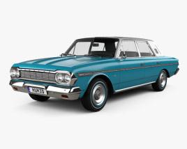 AMC Rambler Classic 770 4-door sedan 1964 3D model