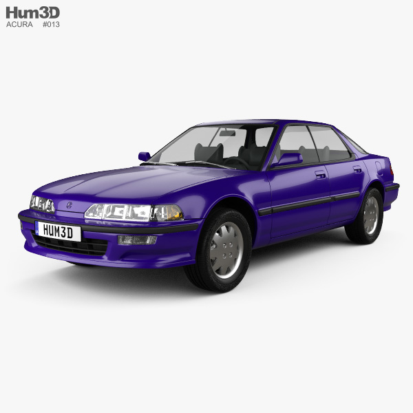 Acura Integra 1990 3D Model