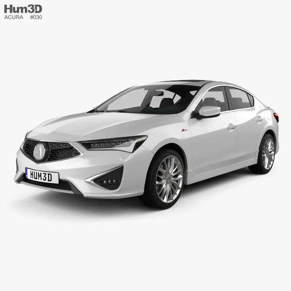 2019 Acura Rdx Sh Awd Aspec: Acura 3D Models