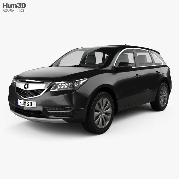 Acura MDX 2014 3D Model