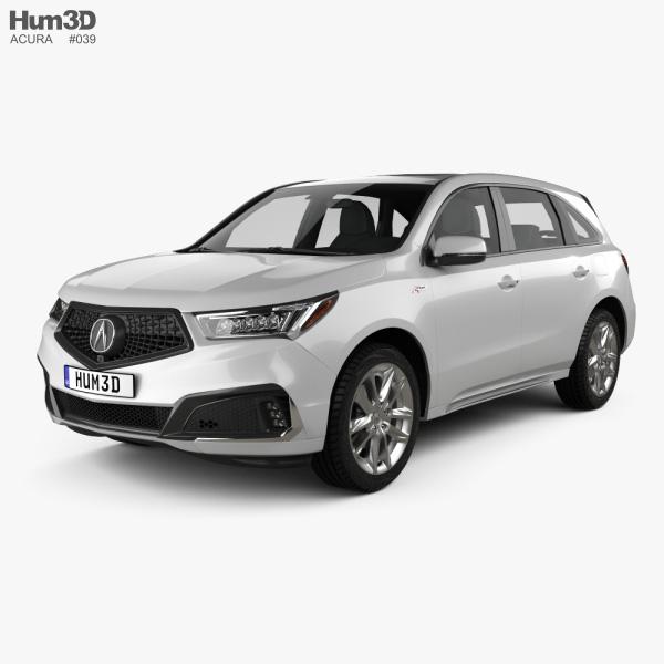 Acura SUV 3D Models