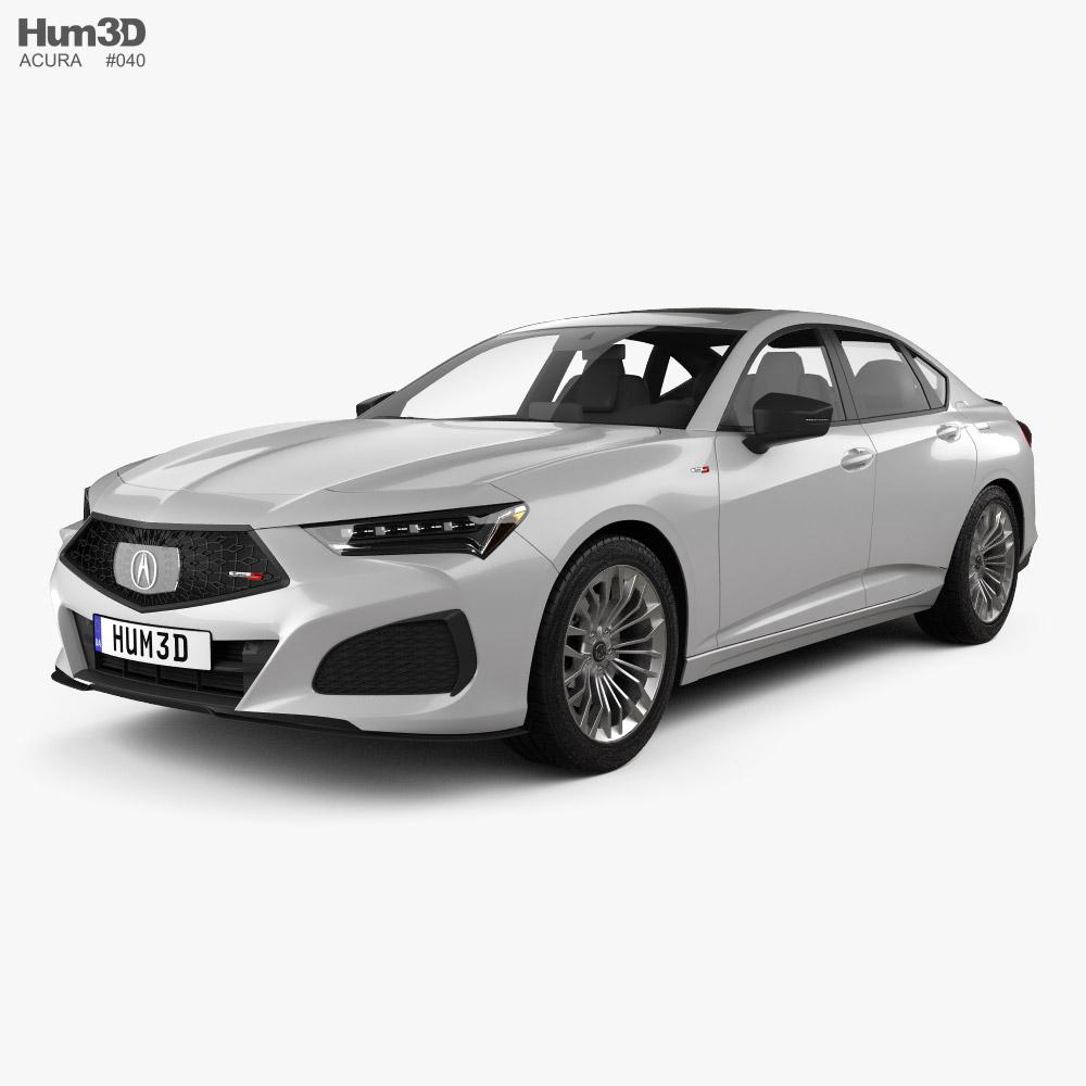 Acura TLX Type S 2020 3D Model