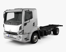 Agrale 10000 Chassis Truck 2012 3D model