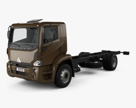 Agrale 14000 Chassis Truck 2012 3D model