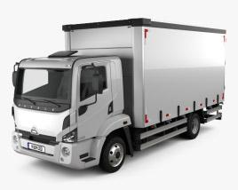 Agrale 8700 Box Truck 2012 3D model