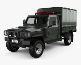 Agrale Marrua AM 200 Policia 2012 3D model