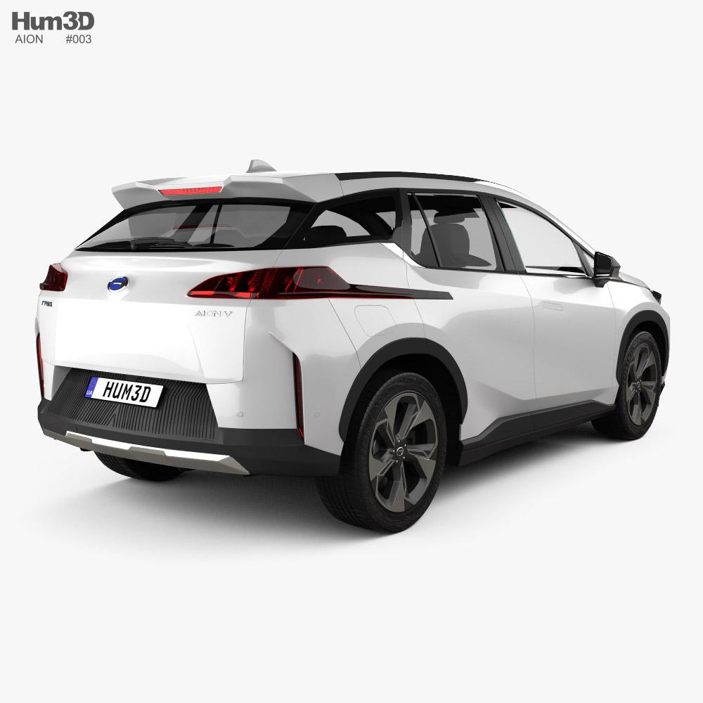 Aion V 2020 3d model