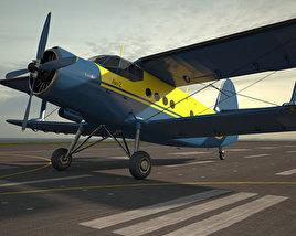 Antonov An-2 3D model