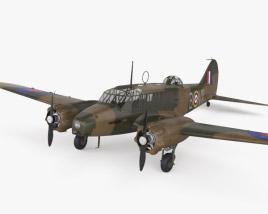 Avro Anson 3D model