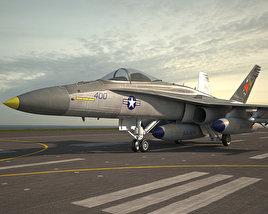 McDonnell Douglas F/A-18 Hornet 3D model