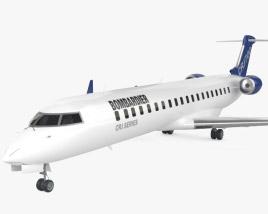 Bombardier CRJ700 series 3D model
