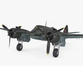 Bristol Beaufighter 3D model