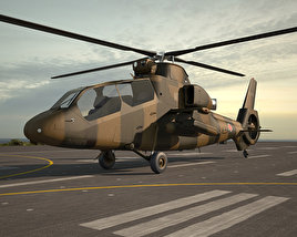 Kawasaki OH-1 3D model