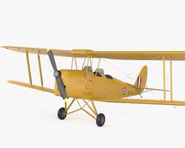 de Havilland DH.82 Tiger Moth 3D model