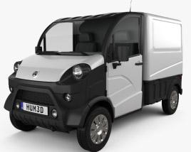 Aixam D-Truck Van 2018 3D model