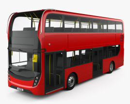 Alexander Dennis Enviro400 Double Decker Bus 2015 3D model